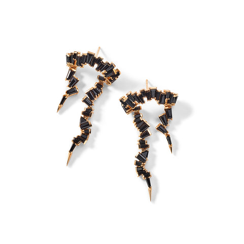 """Ruffled Ear Lassos"" Earrings"