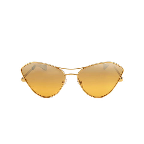 """Fluxus"" Gold/Yellow Sunglasses"
