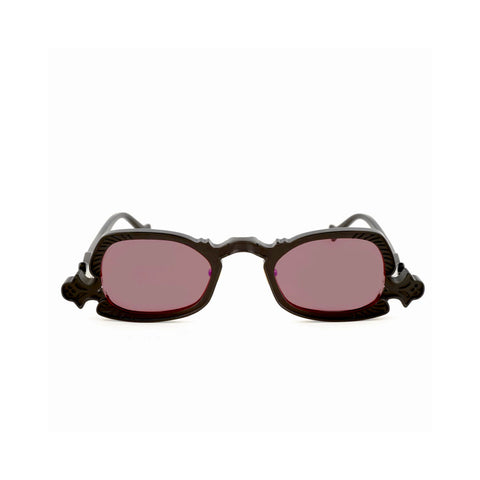"""Arsenic"" Black/Wine Sunglasses"