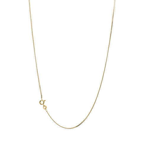 """10K Yellow Gold Cable Chain"" Necklace"