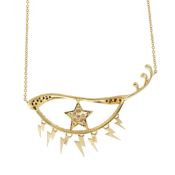 """Star Eye"" 18k Gold Necklace - ARCHIVES - 3"