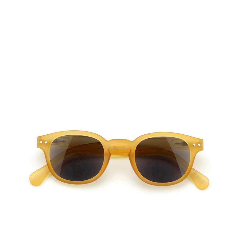 """C"" Yellow Honey Sunglasses"