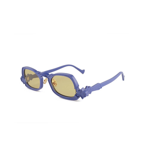"""ARSENIC"" BLUE / GOLD SUNGLASSES"