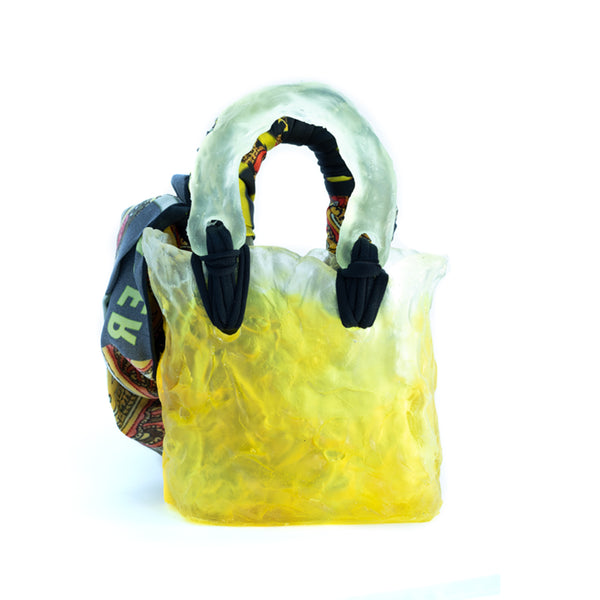"""Ceramic Yellow"" Bag"