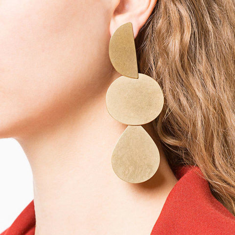 """Mattea Earrings"" Gold"