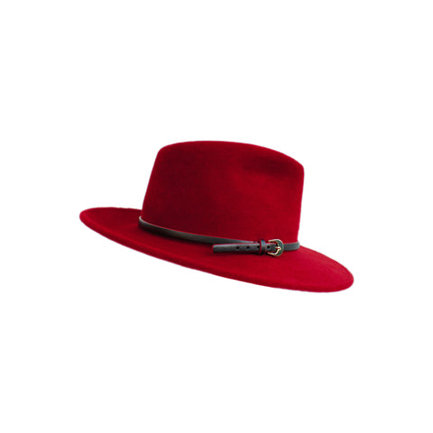 """DW 453 Crimson/Black"" Hat"