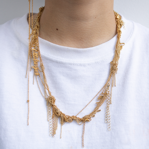 """Ottolinger Tangled Chains"" Necklace"