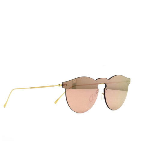 """Leonard Mask"" Bright Rose Sunglasses"