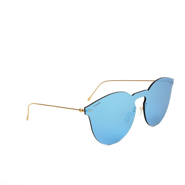 """Leonard Mask"" Sky Blue Sunglasses"