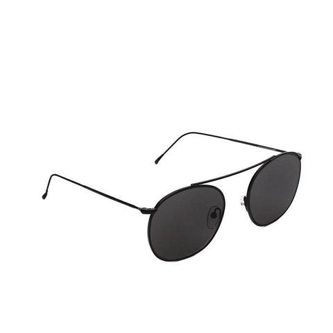 """Mykonos"" Matte Black Sunglasses"