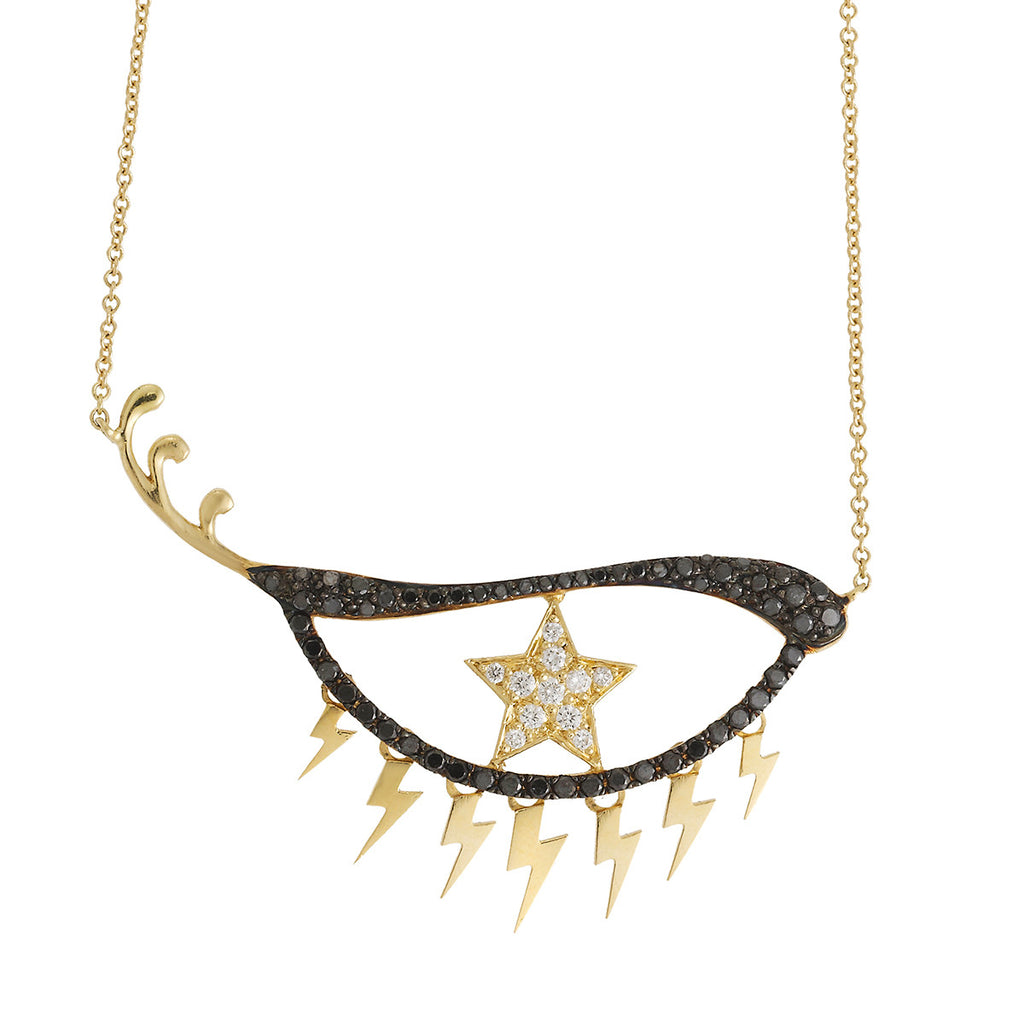 """Star Eye"" 18k Gold Necklace - ARCHIVES - 1"