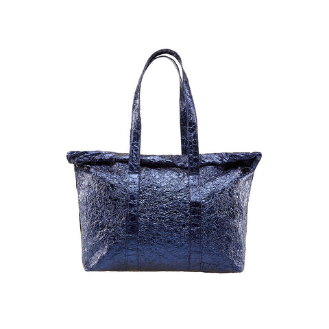 """Steel Night Blue"" Big Shopper Bag & Small Purse"