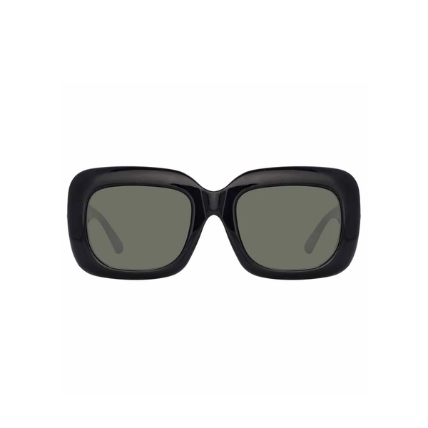LINDA FARROW BLACK SUNGLASSES (995 C1)