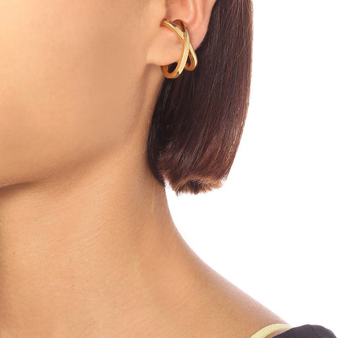 """Mini Space Ear Cuff Gold"" Mono Earring"
