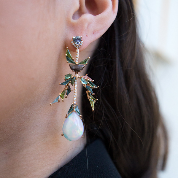 """Parrot"" Earrings"