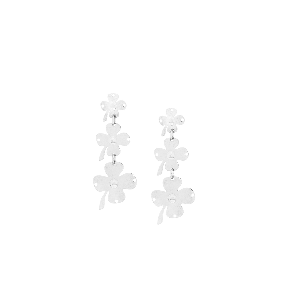 """Clover Trio"" Earrings"