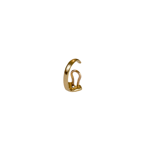 """MIRIAN"" SMALL 18K YELLOW GOLD MONO EAR CUFF"