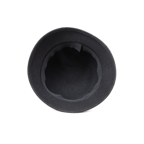 """Black Wool"" Hat"