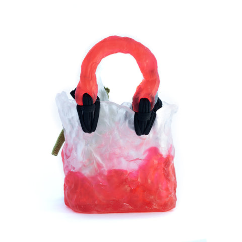 """CERAMIC RED"" BAG"