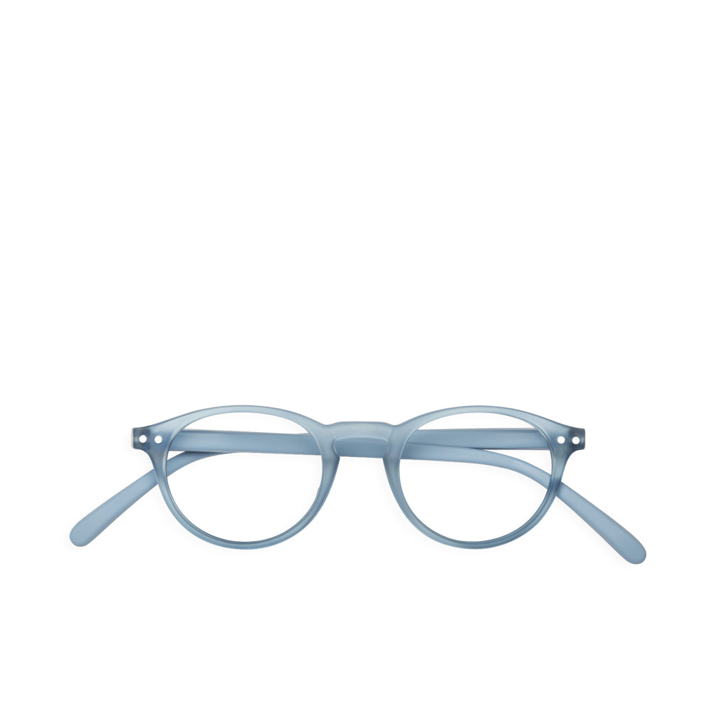 """A"" Cold Blue Reading Glasses"