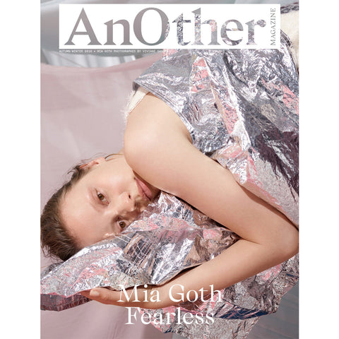 ANOTHER Magazine Autumn/Winter 2018, Mia Goth