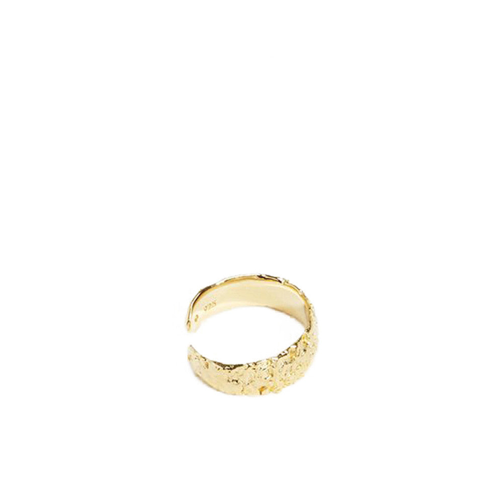 """Anchovy Large Ring"" Yellow Gold"