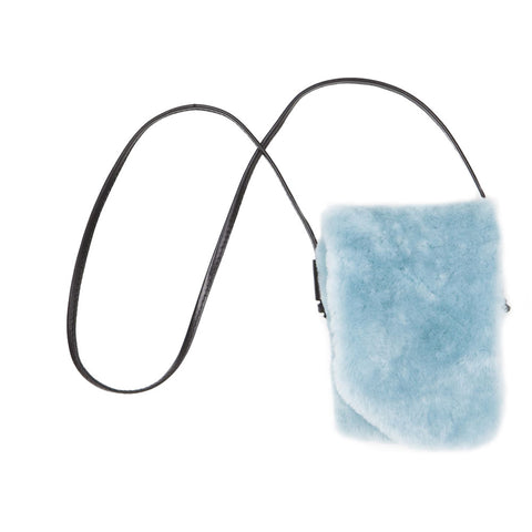 "Aqua Blue ""Disco"" Bag"