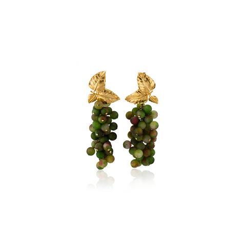 """DAFNE"" Olive Earrings"
