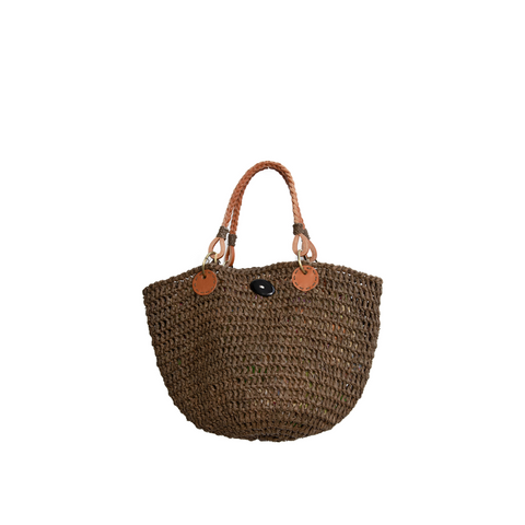 """ZANZIBAR TABAC"" MEDIUM BAG"