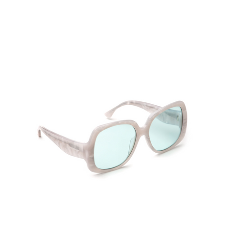 """Oversized Square"" Sunglasses - Mother of Pearl"