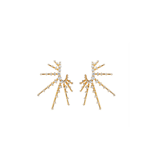 """RADIANT"" DIAMOND EARRINGS"