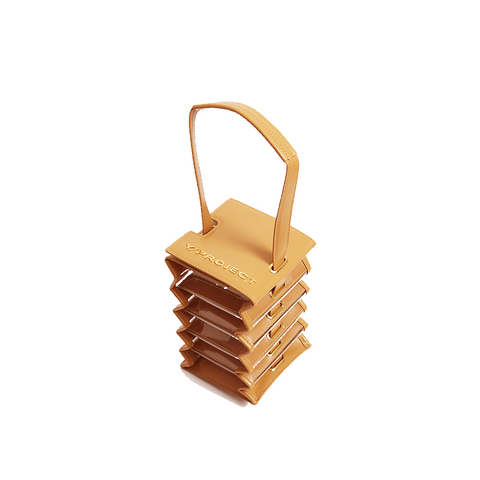 """Mini Accordion Bag"" Camel"