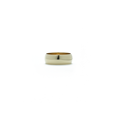 """10K High Polish Gold Band"" Ring"