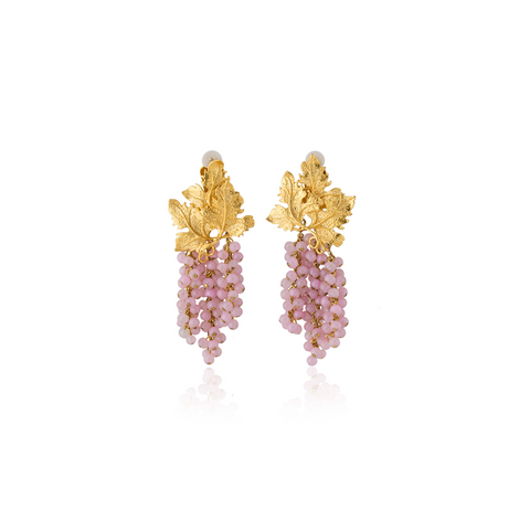 """ADILE"" Light Pink Earrings"