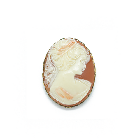 """Muse Cameo"" Brooch"