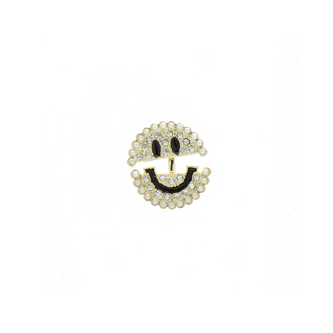 """Smily Face"" Mono Earring"
