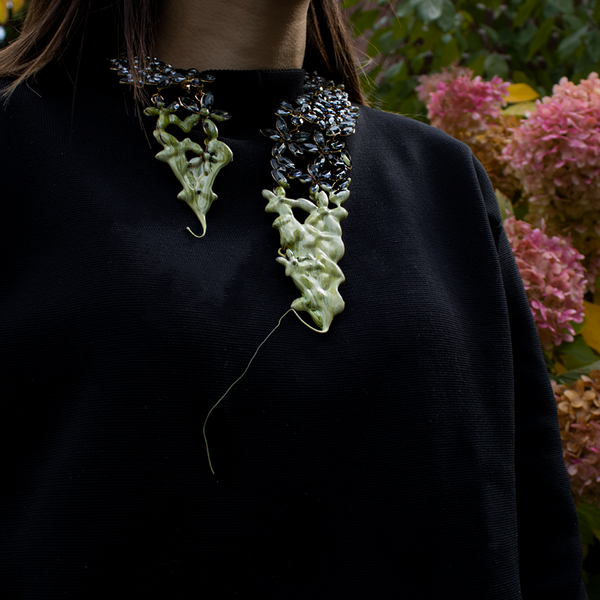 """GREEN COLLIER"" NECKLACE"