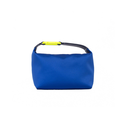 """Moon Bag Electric Blue"" Satin"
