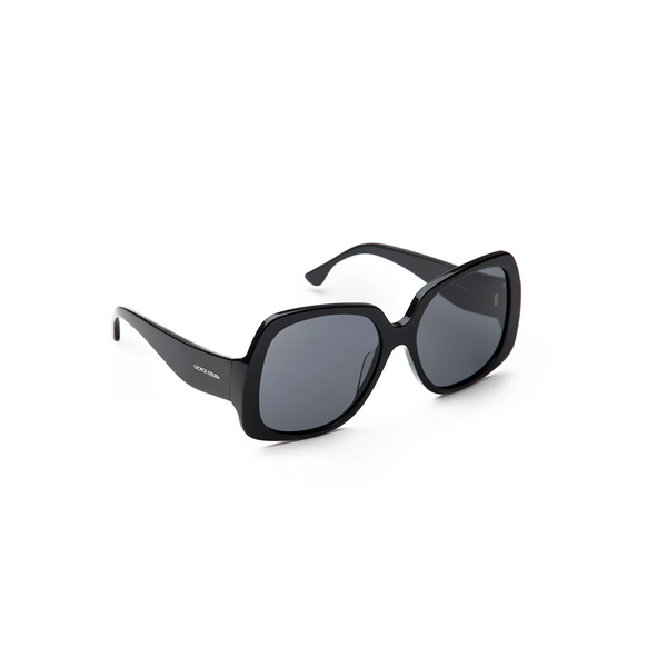 """Oversized Square"" Sunglasses - Black"