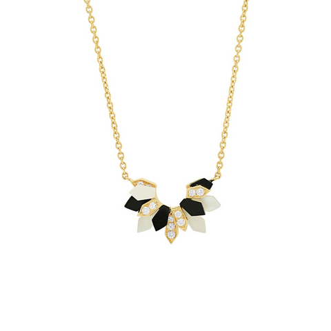 """Mini Penacho Yellow Gold"" Necklace"