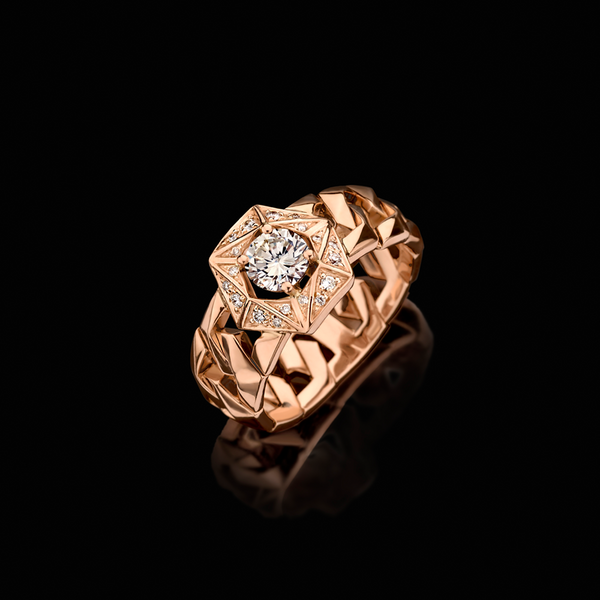 """BOND"" SIGNATURE SOLITAIR RING I"