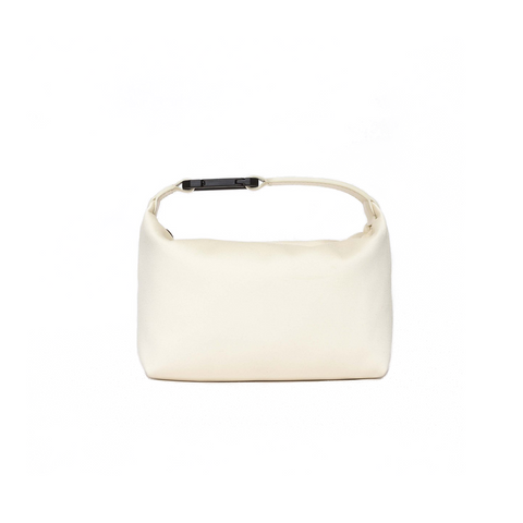 """Moon Bag Off White"" Satin"