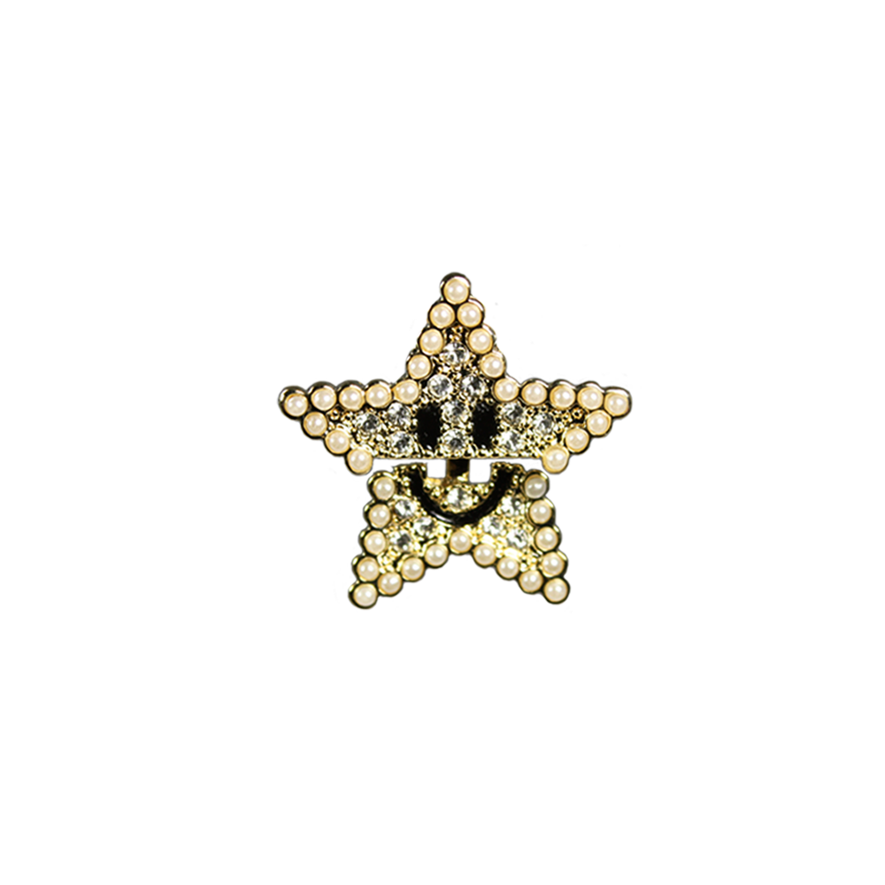 """Smiling Star"" Mono Earring"