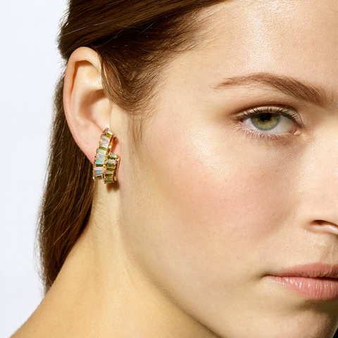 """Double Ruched"" Ear Cuff"