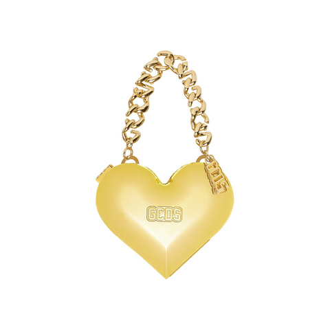 """GCDS"" Gold Heart Bag"