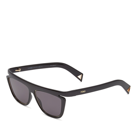 """FFLUO"" BLACK / GREY SUNGLASSES"