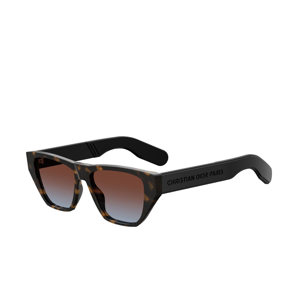 """DIOR INSIDE OUT 2"" DARK HAVANA SUNGLASSES"