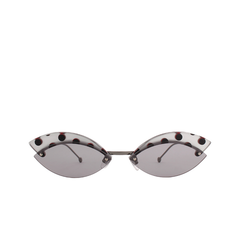 """DEFENDER"" POLKA DOT SUNGLASSES"