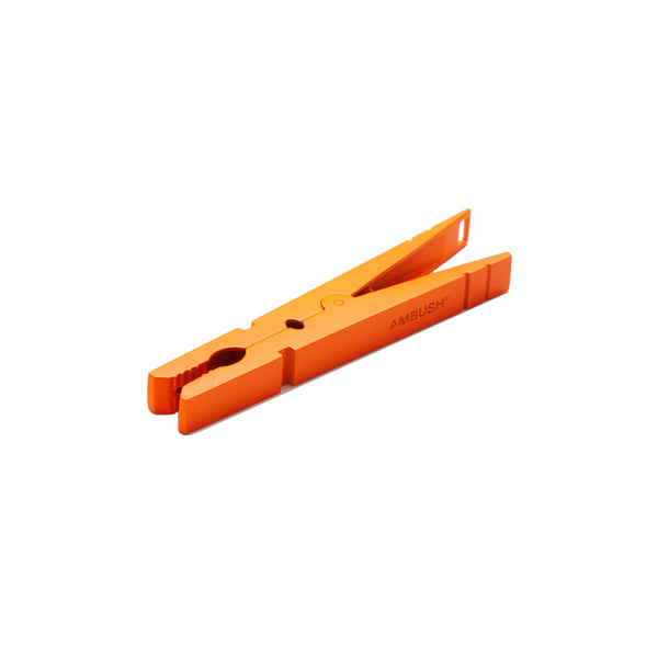 """NOBO CLIP"" ORANGE MONO EARRING"
