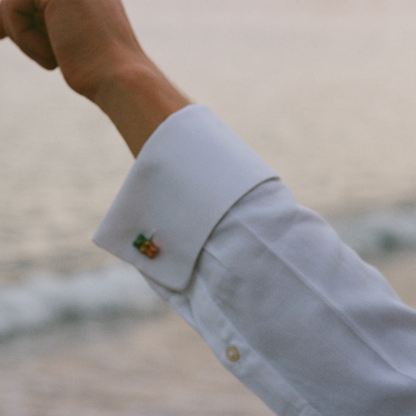 """Watermelon"" Cufflinks"